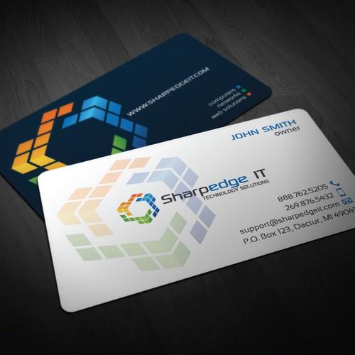 Sharpedge IT Business Card