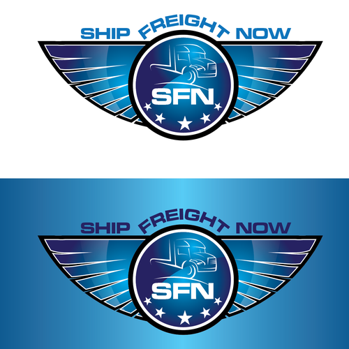 "Logo For New Site ""Ship Freight Now"