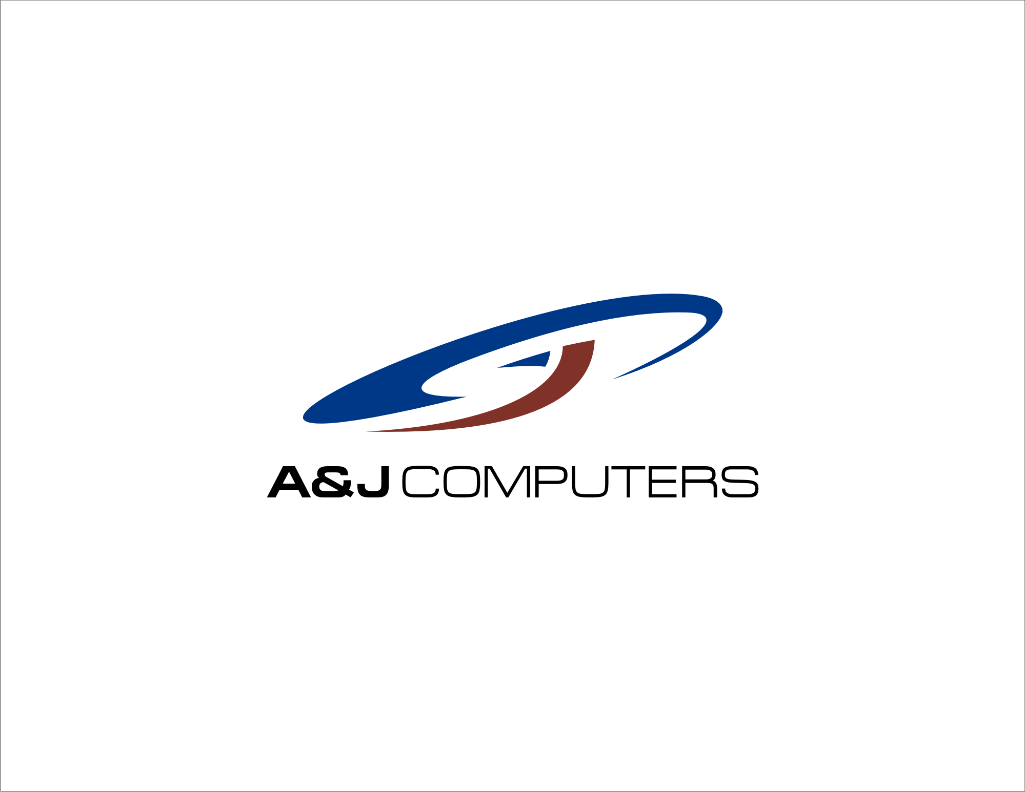 Logo design for A&J Computers