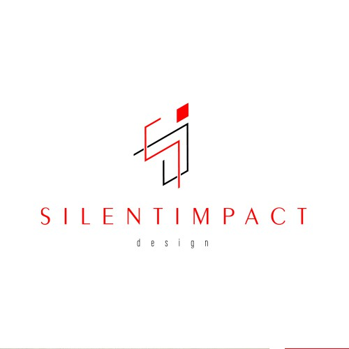Create the next logo and business card for Silent Impact Designs
