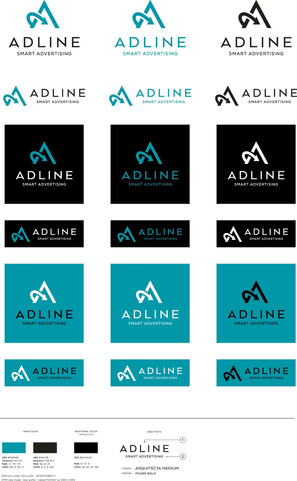 New logo for adline