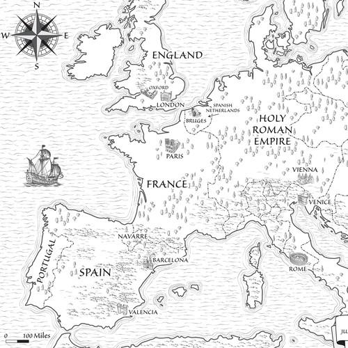 Historical Map for Novel