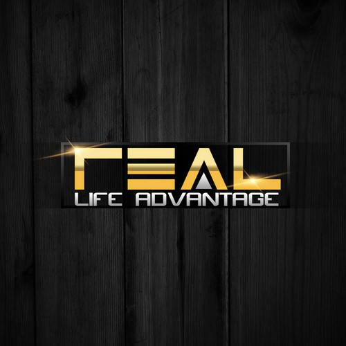 "Grateful for your help in creating our winning logo for the ""Real Life Advantage"""
