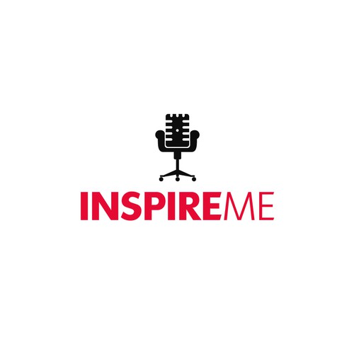 Bold logo for Inspire Me Broadcast.