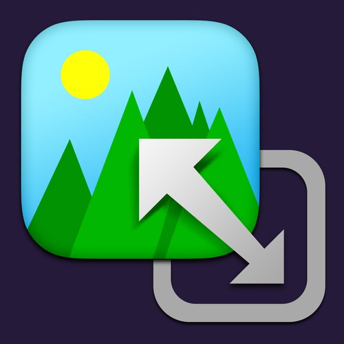 Icon for OS X image resizing utility