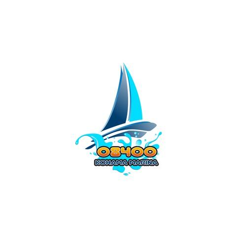 ヨットのロゴ