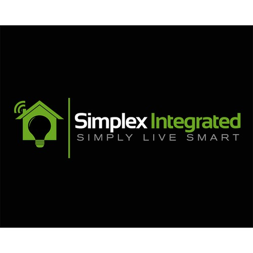 Create modern company logo for home security and automation company.