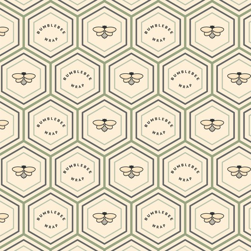 Pattern for beeswax paper wraps