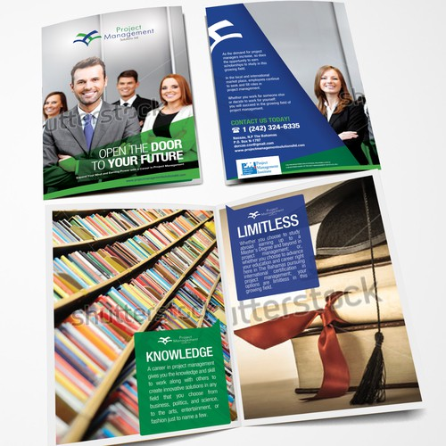 Create a brochure for Project Management Solutions Ltd.