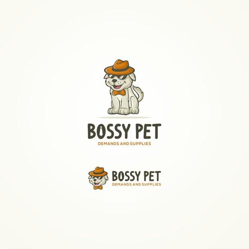 bossy pet logo