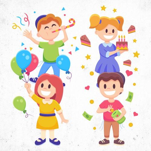 Birthday characters