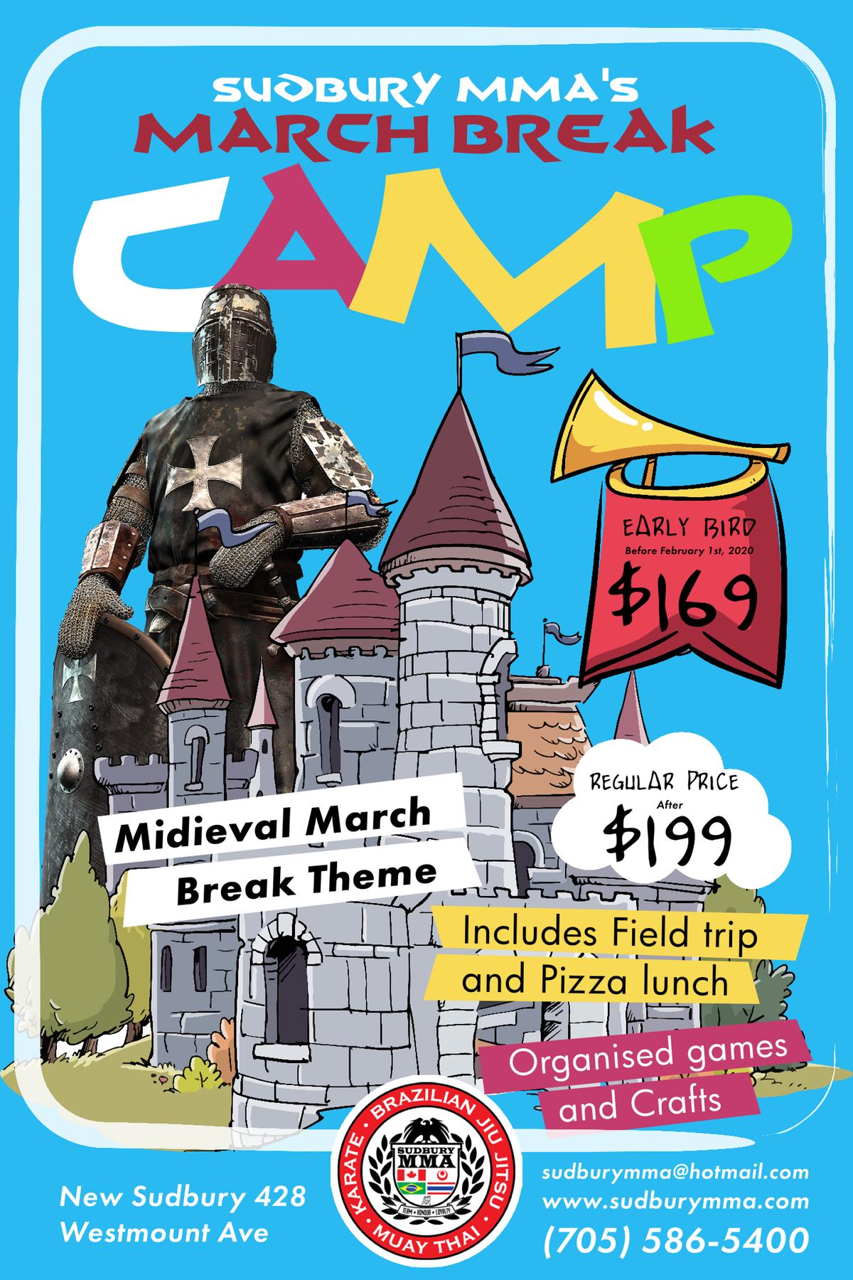 March Break Camp Flyer