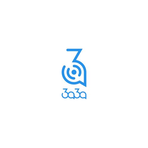 Geometric & Minimalistic Logo for Online Language School