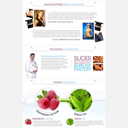 website design for XRKetones