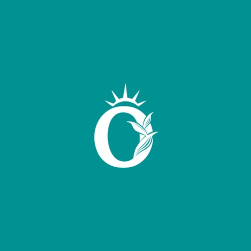 Organic logo for cannabis concentrate brand.