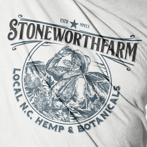 """From soil to oil"" Stoneworthfarm Pittsburgh,North Carolina."