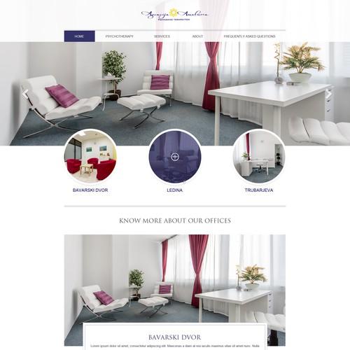Single Page Design For Agencija Amalurra