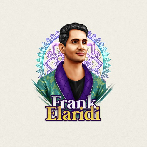 Potrait Illustration - Frank Elaridi