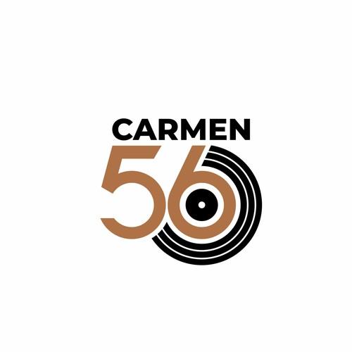 Bold logo for Carmen 56