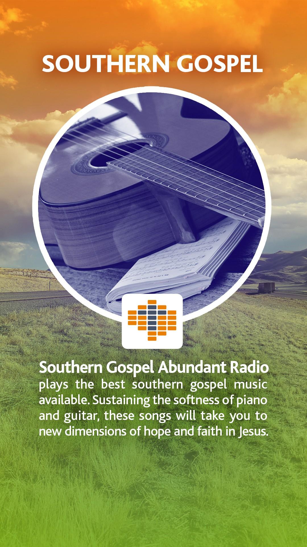 Abundant Radio - Listen Tab - Southern Gospel