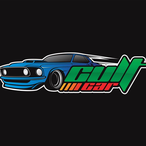 logo for a website that focus on special cars for special Cult Car enthusiasts!