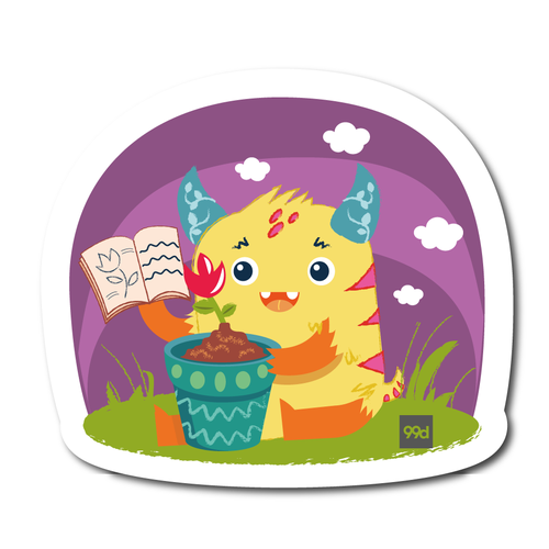 Children sticker