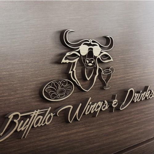 Buffalo Wings Logo for Peruvian Restaurant!!