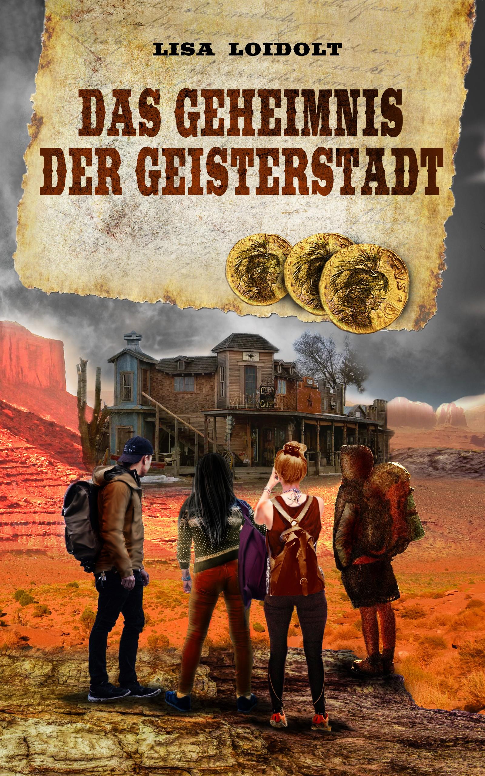Gestalte das Cover für einen spannenden Abenteuerroman/ Design the cover for an exciting adventure novel