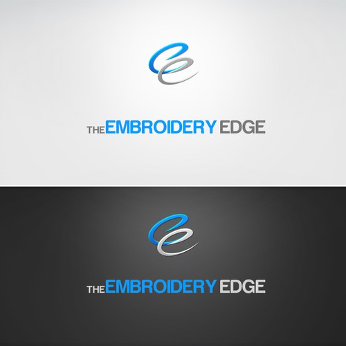 logo for The Embroidery Edge