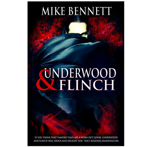 Underwood and Flinch Book-Cover design