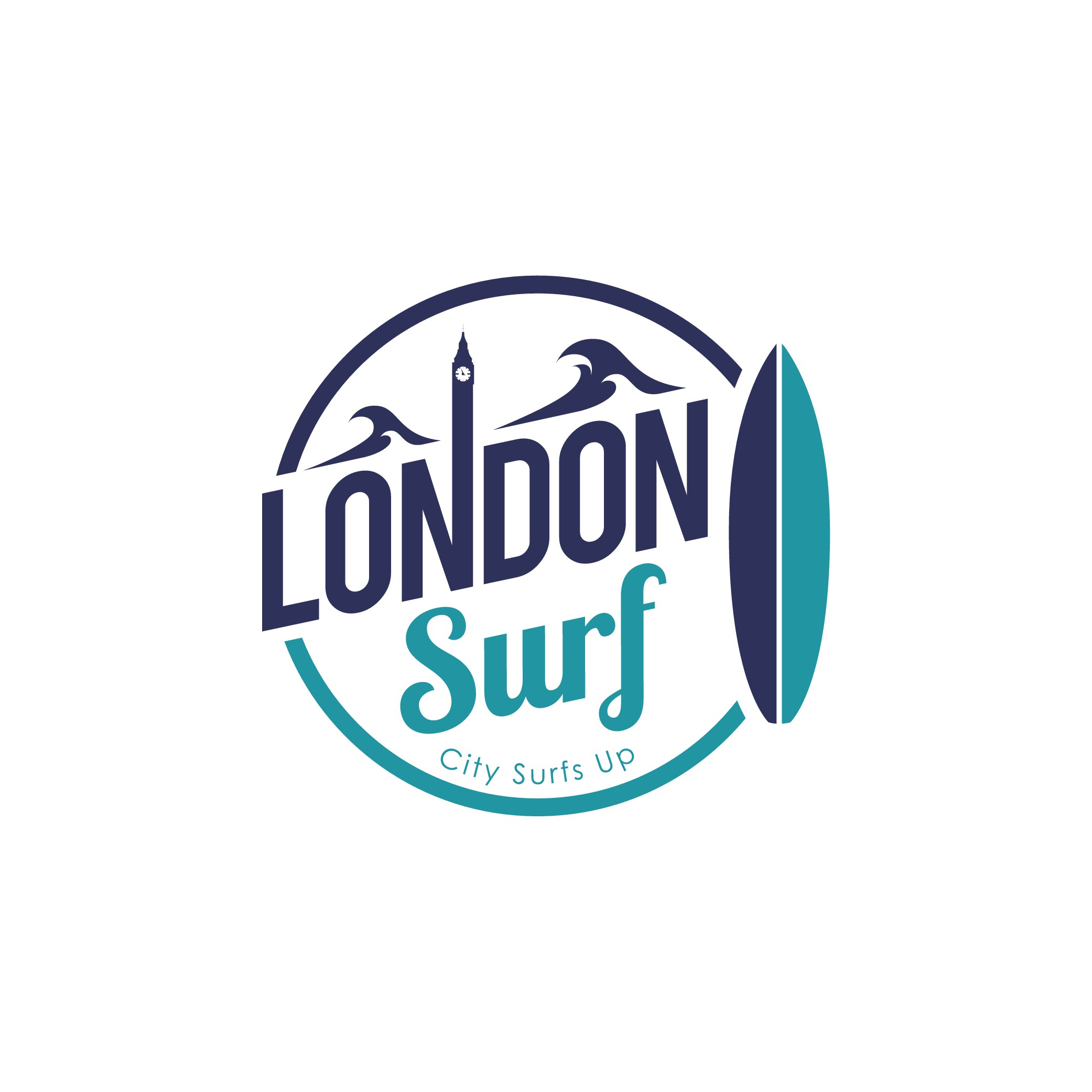 Awesome London Surf Logo and media pack.