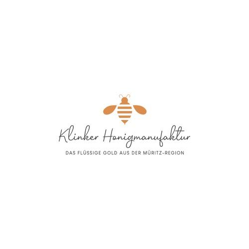 Final Logo for Klinker Honigmanufaktur