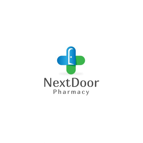 Logo Concept for Next Door Pharmacy || Available