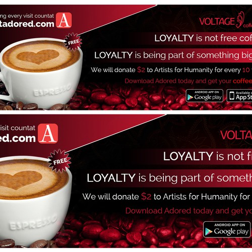 voltage coffee ADVT