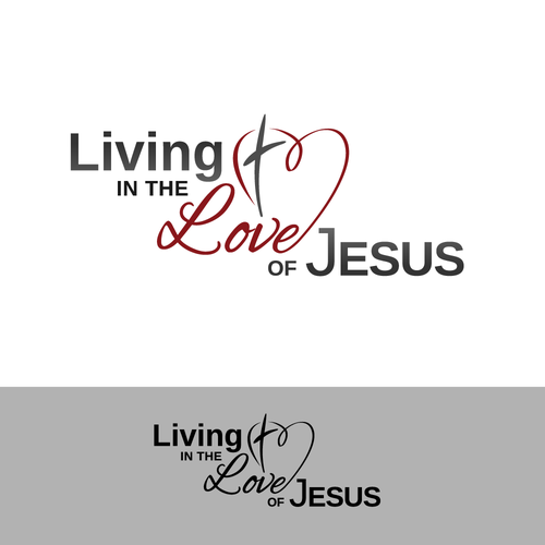 Stylized word logo for  Christian TV ministry