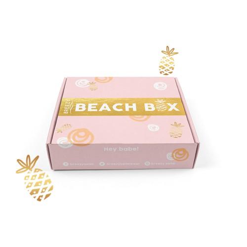 Summery theme for bikini box