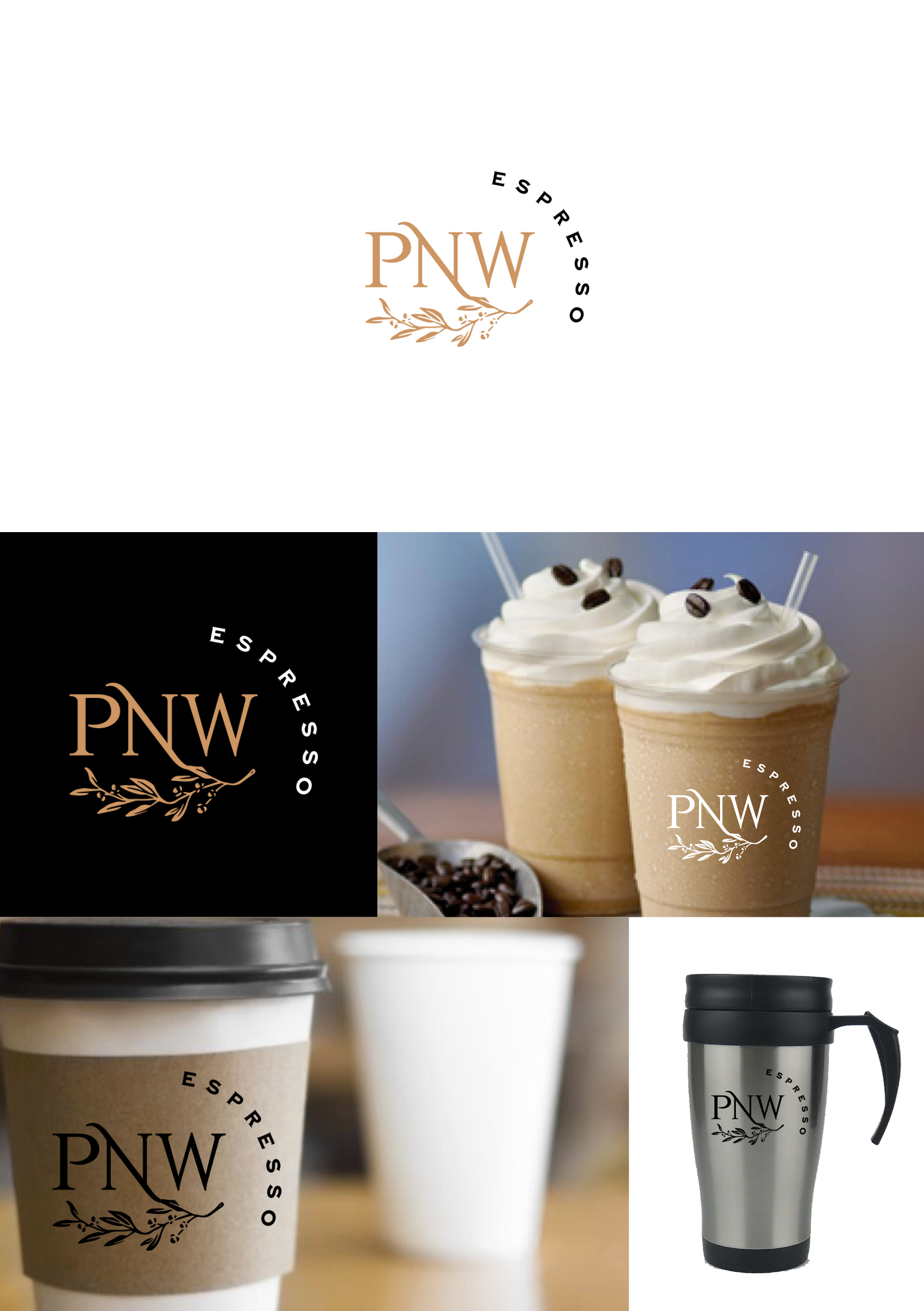 PNW Espresso 2.0 - Please help me with a logo that will look great on our coffee cups!!!