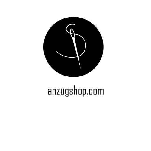 Simple logo for designer shop