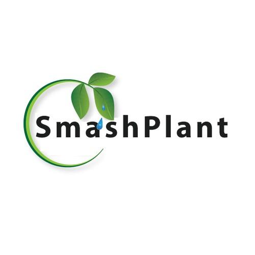 Create a logo for SmashPlant.