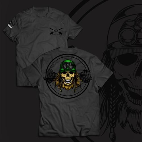 t-shirt design for Supplement brand t-shirt