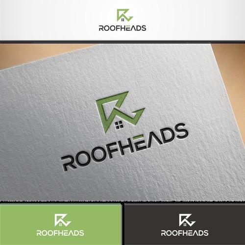 R Lettermark logo for Roofheads a Real estate app