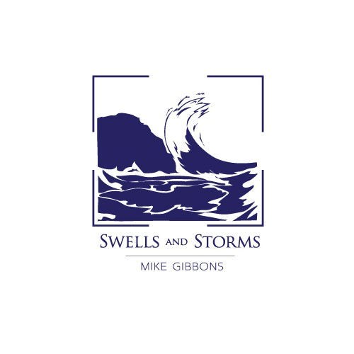 A distinctive wave logo