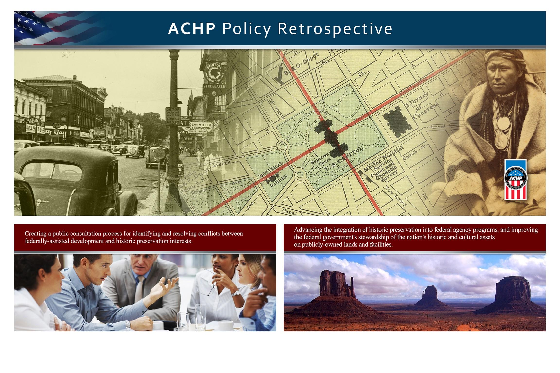 ACHP Retrospective Themed Graphics