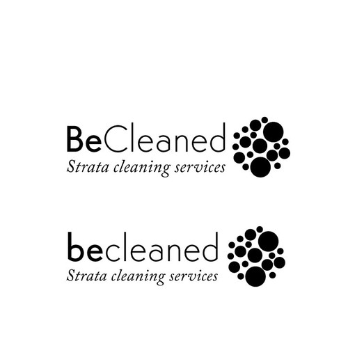 Logo design concept for a Cleaning company