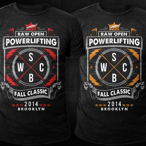 Powerlifting Championship Tee