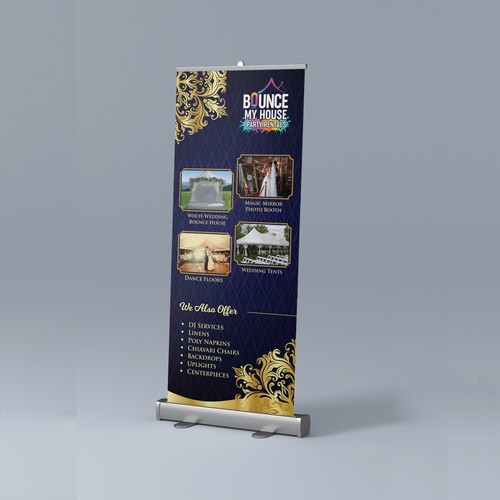 24 hours for Roll up Banner design