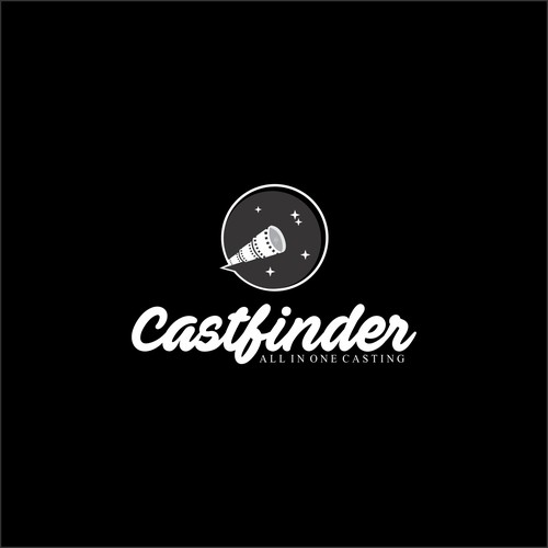 logo concept for castfinder