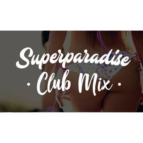 Simple youtube video thumbnail for a mix.