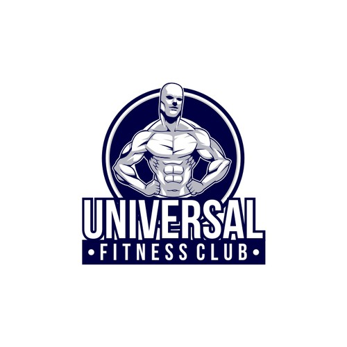 Create the next logo for Universal Fitness Club