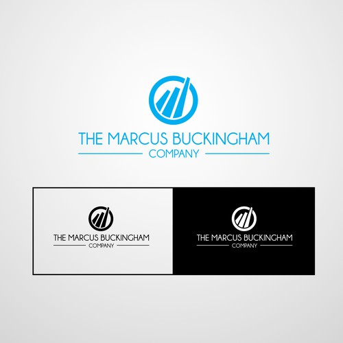 the marcus buckingham company needs a new icon and logo